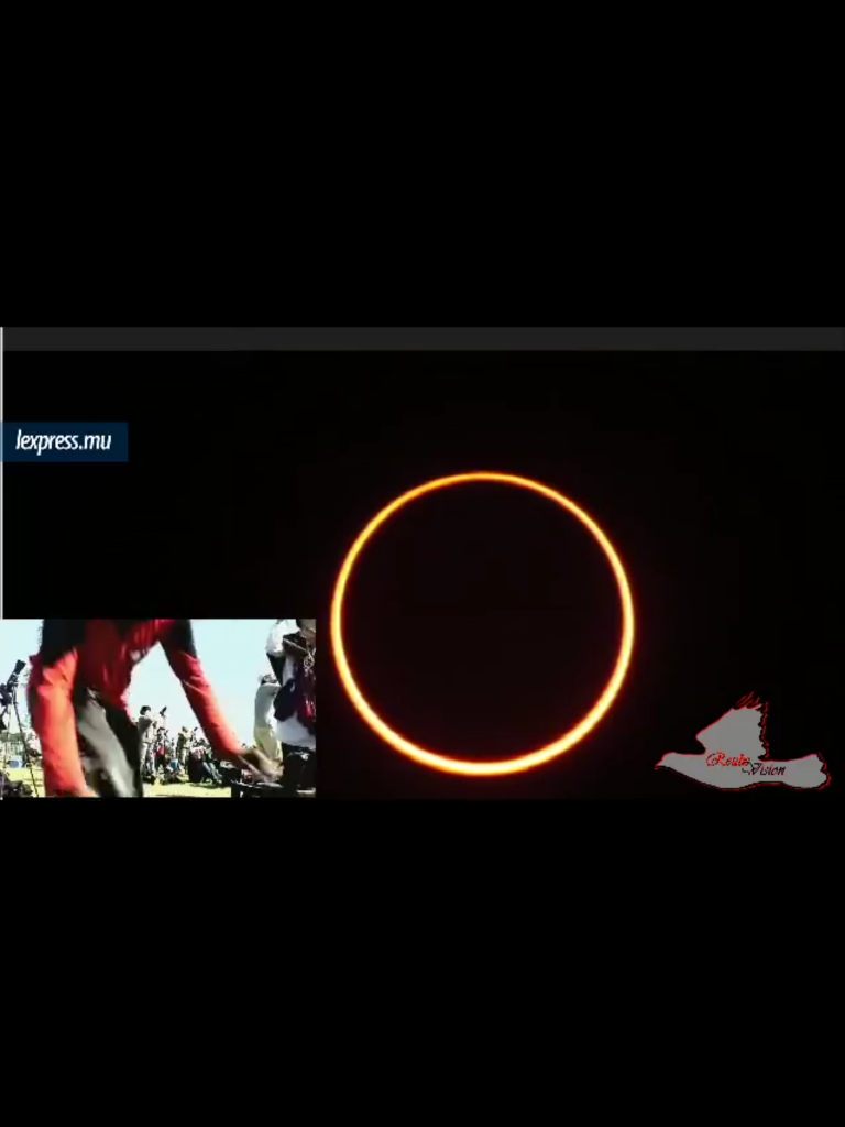 Solar Eclipse - Ring of Fire